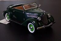 Franklin Mint 1/24 Scale 1936 Ford Roadster Green