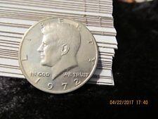 1972 KENNEDY HALF DOLLAR from US Mint Set!! Uncirculated - BU #7