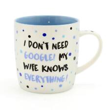 Novelty Mug Gift - Wife Knows Everything Gift New Boxed LP33754