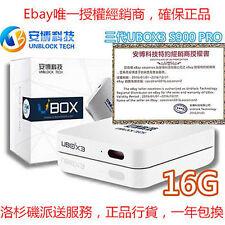 最新版安博盒子UBOX3 Unblock Tech TV Box Gen3 IPTV UBOX S900 Pro 16G 成人頻道 原裝正版授权 美國行貨