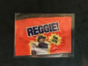 Reggie Jackson REGGIE! Bar Fun Size Wrapper