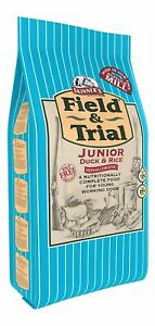Skinner's Field & Trial Complete Dry Junior Working Dog Food Duck and Rice, 2...