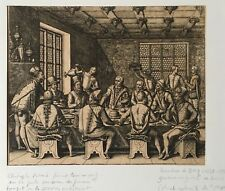 Th. De Bry- Christophe Colomb-Voyages-America-1594-burin-édition originale-Rare