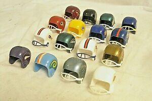 Vintage NFL Miniature Football Helmets Lot of 16