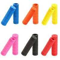 2x BMX MTB Bike Mountain Bicycle Handle Handlebar Soft Rubber Bar End Grips 22mm