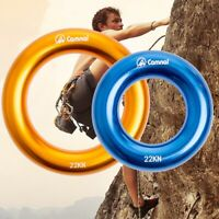 23KN Rappel Ring Connector Saver Set Bailouts OF/ Rock Climbing Arborist