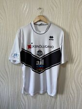 LUGANO 2009 2010 HOME FOOTBALL SHIRT SOCCER JERSEY ERREA WHITE DOUDIN #17