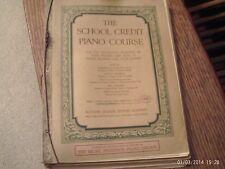 ed Clarence Hamilton: School Credit Piano Course, 1st Year, book 1 (Ditson)copy2