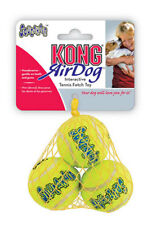 Air Kong Dog Squeaky Tennis Fetch Ball Toy X Small Balls 3 pack