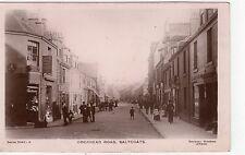 DOCKHEAD ROAD, SALTCOATS: Ayrshire postcard (C8106)