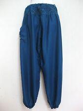 New Ladies Crochet Harem Pants Baggy Bohemian Boho Hippie Aladdin Yoga Trousers