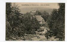 AK Schreiberhau im Riesengebirge Partie am Zacken ungelaufen