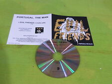 PORTUGAL. THE MAN - EVIL FRIENDS  !!!!FRENCH ONLY PROMO CD!!!!