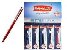 10x Reynolds Jetter Classic Ball Pen BLUE | 0.7mm | for home school office use