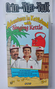 Adventures In Kettleland With The Singing Kettle Vhs Children's BBC Retro Video