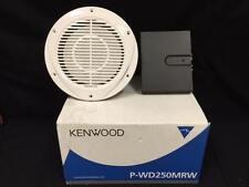 KENWOOD P-WD250MRW INCLUDES KFC-W250MRW 10 MARINE SUBWOOFER KAC-210MR AMPLIFIER
