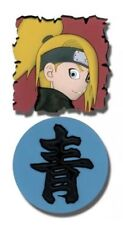 Naruto Shippuden PVC Rubber Pin Set New Deidara & Sei (Kanji) (Set of 2) NWT