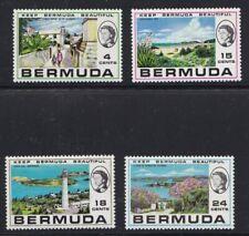 Bermuda 1971 Turismo 264-67   Mnh