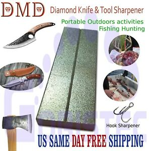 DMD Diamond Premium Whetstone Sharpening Tool Knife Axes Hooks & Swords Compact