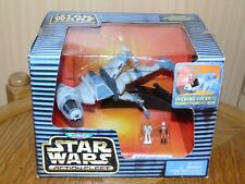 Micro Machines Star Wars Action Fleet B-Wing Starfighter komplett mit US Box