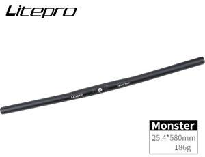 Litepro Monster Handlebar 25.4*580mm Aluminium Flat bar MTB XC Road fixie Bike