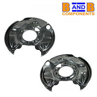 MERCEDES C-CLASS 203 CLK 209 SLK 171 REAR DISC BRAKE BACK PLATES PAIR A1184
