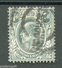 GRANDE BRETAGNE, 1909-10, timbre 123, EDOUARD VII, oblitéré