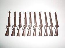 Playmobil 10 rifles Winchester sudistas Western indios yanquis personalmente 3811