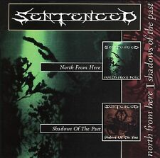 SENTENCED - NORTH FROM HERE / SHADOWS OF THE PAST 2001 2CD BRAND NEW & SEALED