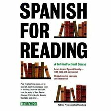 Spanish for Reading: A Self-Instructional Course (Paperback or Softback)