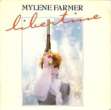 "MYLENE FARMER - 45T VINYL (SP) ""LIBERTINE"""
