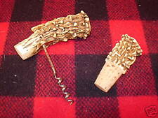 Rustic Deer Antler Bottle Opener Adirondack Log Cabin