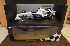 F1     Sauber Bmw C24B J.Villeneuve F1  2006 .Minichamps  180pcs    - 1:18 OVP