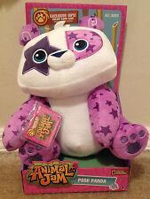 Jazwares Animal Jam 12 Inch Deluxe Plush Animal Posh Panda MIB