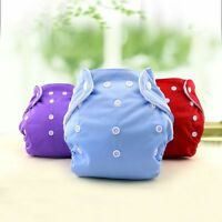 Bag Reusable Baby Cloth Diaper Waterproof Soft Diaper Covers Adjustable