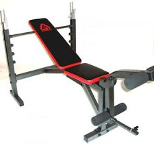 NEW Achieve Fitness Bench Press + leg extension + adjustable flat +  incline/dec