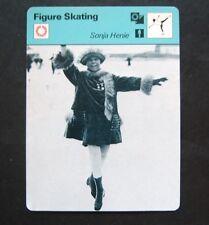 1977-1979 Sportscaster Card Figure Skating Sonja Heine Pavlova of the Ice 02-12