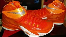 NIKE Zoom Soldier VIII TB (LeBron James).. Orange/ White.. Men 9 or Women 10.5