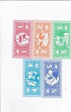 Monopoly junior- lot de 45 billets en bon état
