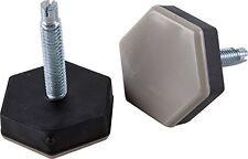 Shepherd Hardware 9468 1-1/2-Inch Slide Glide, Hex-Base Furniture Sliders with