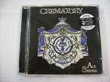 CREMATORY - ACT SEVEN - CD LIKE NEW CONDITION 1999