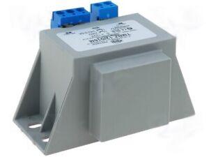 Netztrafo vergossen 24V AC 12VA max 500mA mit Anschlussklemmen u