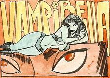 Vampirella 2011 Trading Cards Sketch Card drawn by Alex Riegel /2