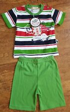Coco Nato Kids Baby 2 Piece Summer 100% Cotton Top & Short Set 12-18 Months BNWT