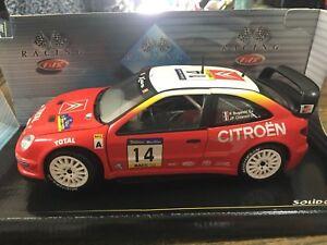 Solido 1/18 202991 Citroen Xsara WRC Philippe Bugalski Rally Cataluña