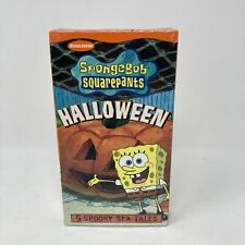 Spongebob Squarepants - Halloween (VHS, 2002) New Sealed!!!