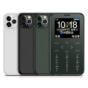 1.5-inch 400mAh Long Standby Vibration GSM Ultra Thin Mini Card Phone