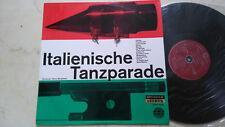 ORCHESTER HEINZ NEUBRAND Italienische Tanzparade *60s AMADEO LABEL AUSTRIA*