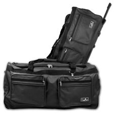 XXXL Trolleytasche Reisetasche Sporttrolley Bag Trolley Tasche Koffer grau 160L