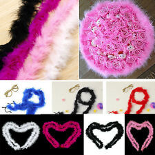 2M String Fur Trimming Fluffy Feather Trim Dress Party Costume Wedding
